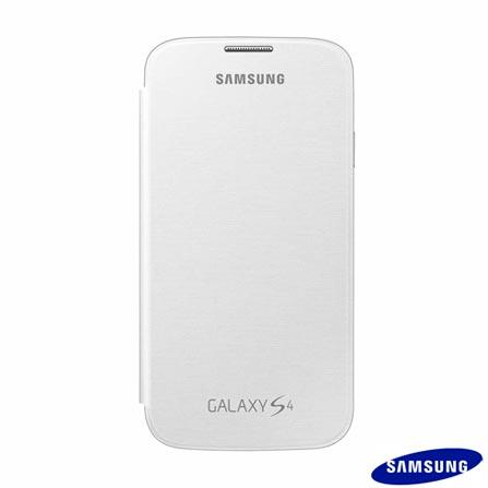 Smartphone Samsung Galaxy S4 Branco com 4G+ Capa Flip Cover Samsung para Galaxy S4, Android acima de 4'', 0
