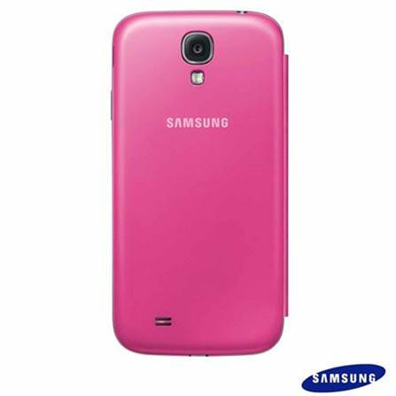 Smartphone Samsung Galaxy S4 Preto com 4G+Capa Flip Cover Samsung para Galaxy S4 Pink, 0, 01 ano