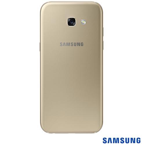 Samsung Galaxy A5 2017 Dourado, 5,2, 32GB, 16MP - SM-A520F  + Coelhinho Lapan de Pelucia Framboesa - Bodobo - 2MLAP5121, 1
