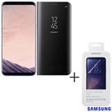 Galaxy S8 Plus Ametista, 6,2, 4G, 64GB, 12 MP - SM-G955 + Capa Preta - EF-ZG950CB EGBR + Pelicula - ET-FG950CTEGBR