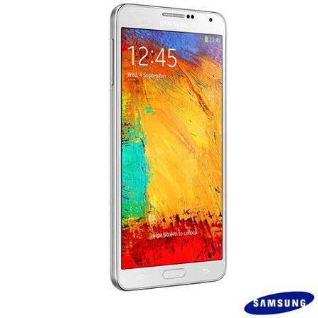 Samsung Galaxy Note 3 Branco com Memória de 32 GB, 4G e Wi-Fi + Software de Segurança McAfee LiveSafe, 0