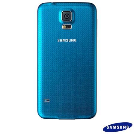 Samsung Galaxy S5 Azul + Samsung Gear Fit com Tela Curva Super Amoled, 0, Android acima de 4''