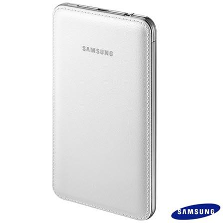 Bateria Externa 6000mAh para Smartphone e Tablets - Samsung - EBPG900BW, Bivolt, Bivolt, Branco, Smartphones e Tablets, 06 meses
