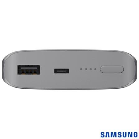 Bateria Externa Fast Charge 10200 mAh Prata - Samsung - EB-PN930CSPGBR, Prata, Bateria, Dispositivos Digitais Portáteis, Smartphones e Tablets, 06 meses