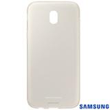 Capa para Galaxy J5 Pro Jelly Cover em Silicone Dourado - Samsung - EF-AJ530TFEGBR