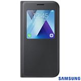 Capa para Galaxy A5 S View Standing Cover Preta - Samsung - EF-CA520PBEGBR