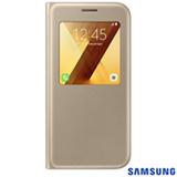 Capa para Galaxy A5 S View Standing Cover Dourada -  Samsung - EF-CA520PFEGBR