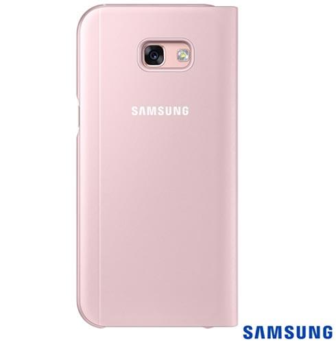 Capa para Galaxy A5 S View Standing Cover Rosa - Samsung - EF-CA520PPEGBR, Rosa, Capas e Protetores, Policarbonato, 03 meses
