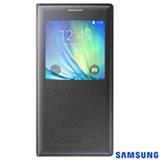 Capa S View para Galaxy A7 em Poliuretano Grafite - Samsung - EFCA700BCEG