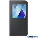 Capa para Galaxy A7 S View Standing Cover Preta Samsung - EF-CA720PBEGBR