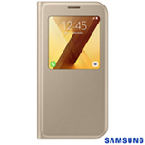 Capa para Galaxy A7 S View Standing Cover Dourada - Samsung - EF-CA720PFEGBR