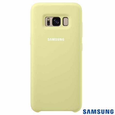 Capa para Galaxy S8  em Silicone Cover Verde - Samsung - EFPG950TG, Verde, Capas e Protetores, Silicone, 03 meses