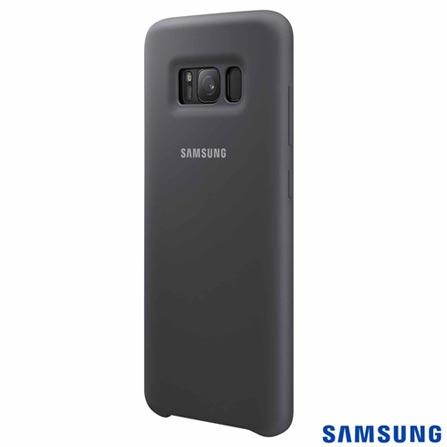 Capa para Galaxy S8 em Silicone Cover Prata - Samsung - EFPG950TS, Prata, Capas e Protetores, Silicone, 03 meses