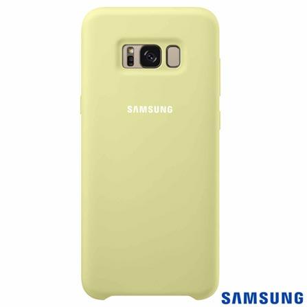 Capa para Galaxy S8 Plus Cover em Silicone Verde - Samsung - EFPG955TG, Verde, Capas e Protetores, Silicone, 03 meses
