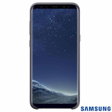Capa para Galaxy S8 Plus Cover em Silicone Prata - Samsung - EFPG955TS, Prata, Capas e Protetores, Silicone, 03 meses