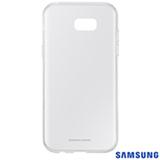 Capa para Galaxy A7 Clear Jelly Cover Transparente - Samsung - EF-QA720TTEGBR