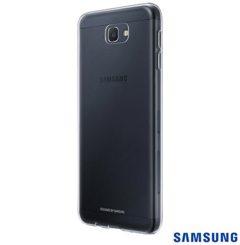 Capa para Galaxy J7 Prime Clear Jelly Cover Transparente - Samsung - EF-QG610TTEGBR, Não se aplica, Capas e Protetores, TPU, 03 meses