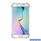 Capa Protetora Clear para Galaxy S6 Edge Dourada - Samsung - EFQG925BF