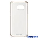 Capa para Galaxy S7 Samsung Clear com Borda Dourada - EF-QG930CFEGBR