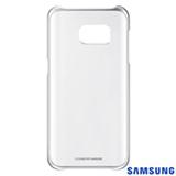 Capa para Galaxy S7 Samsung Clear com Borda Prata - EF-QG930CSEGBR