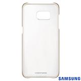 Capa para Galaxy S7 Edge Samsung Clear Dourada - EF-QG935CFEGBR