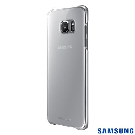 Capa para Galaxy S7 Edge Samsung Clear Prata - EF-QG935CSEGBR, Prata, Capas e Protetores, Policarbonato, 03 meses