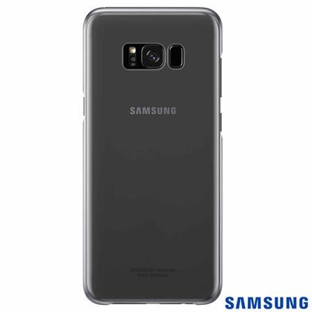 Capa para Galaxy S8 Plus Clear Cover Preta - Samsung - EF-QG955CB EGBR, Preto, Capas e Protetores, Policarbonato, 03 meses