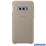 Capa para Galaxy S10e em Couro Cinza - Samsung - EF-VG970LJEGBR