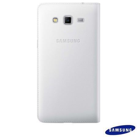 Capa Flip para Samsung Galaxy Gran II Duos em Poliuretano Branca - Samsung - EF-WG710BWEGBR, Branco, Capas e Protetores, Poliuretano, 03 meses