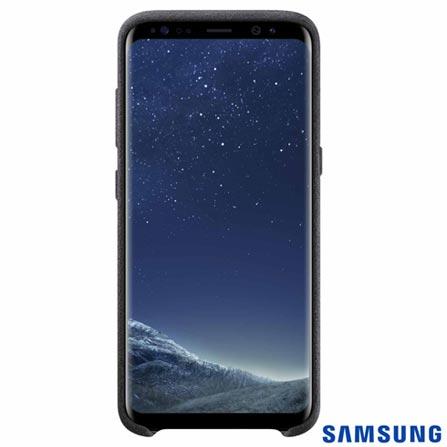 Capa para Galaxy S8 Alcântara Cover Prata - Samsung - EFXG950AS, Prata, Capas e Protetores, Tecido, 03 meses