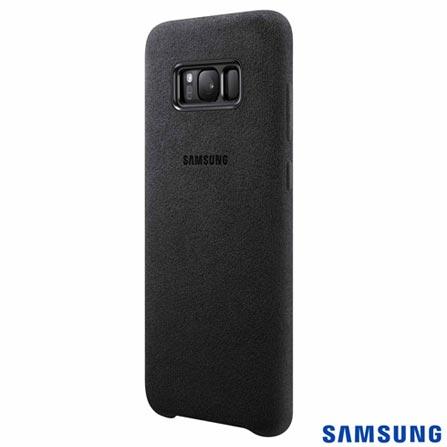 Capa para Galaxy S8 Plus Alcântara Cover Prata - Samsung - EFXG955AS, Prata, Capas e Protetores, Tecido, 03 meses