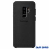 Capa para Galaxy S9+ Samsung  Alcântara Cover Preta - EF-XG965ABEGBR
