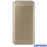 Capa para Galaxy A5 Clear View Cover Dourada - Samsung - EF-ZA520CFEGBR