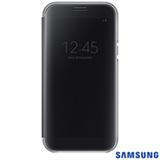 Capa para Galaxy A7 Clear View Cover Preta - Samsung - EF-ZA720CBEGBR