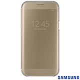 Capa para Galaxy A7 Clear View Cover Dourada - Samsung - EF-ZA720CFEGBR