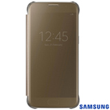 Capa para Galaxy S7 Samsung Clear View Dourada - EF-ZG930CFEGBR