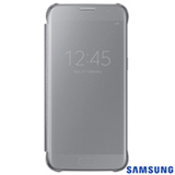 Capa para Galaxy S7 Samsung Clear View Prata - EF-ZG930CSEGBR