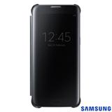 Capa para Galaxy S7 Edge Samsung Clear View Preta - EF-ZG935CBEGBR
