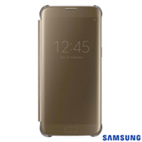 Capa para Galaxy S7 Edge Samsung Clear View Dourada - EF-ZG935CFEGBR