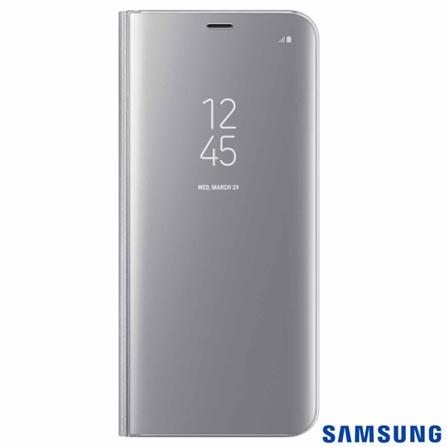 Capa para Galaxy S8 Plus Clear View Standing Cover Prata - Samsung - EF-ZG955CS EGBR, Prata, Capas e Protetores, Policarbonato, 03 meses