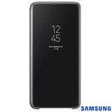 Capa para Galaxy S9+ Clear View Standing Cover Preta - Samsung - EF-ZG965CBEGBR