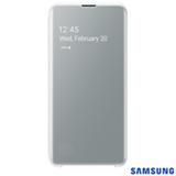 Capa para Galaxy S10e Clear View Branca - Samsung - EF-ZG970CWEGBR
