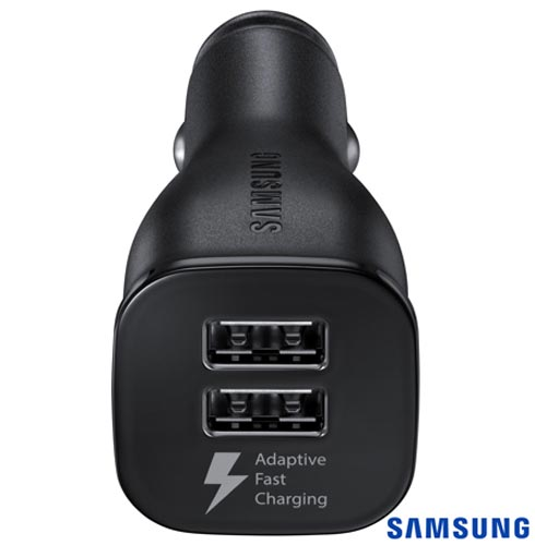 Carregador Veicular para Galaxy com Conexao USB Preto - Samsung - EP-LN920 BBSG BR, Preto, Carregadores, Smartphones e Tablets, 03 meses