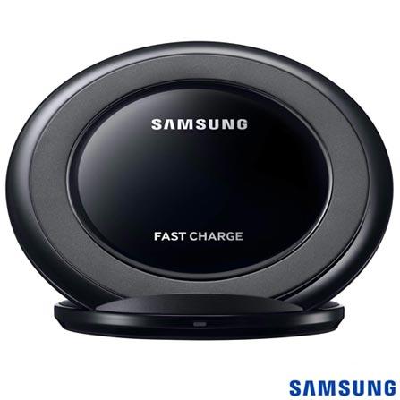 Carregador Sem Fio Samsung para Galaxy S8, S7 e S6 - EP-NG930BBPGBR, Preto, Carregadores, Smartphones, 03 meses