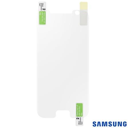 Película Protetora para Samsung Galaxy S7 em Poliéster Transparente - Samsung - ET-FG930CT, Não se aplica, Películas, Poliéster, 03 meses