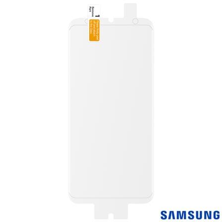 Película Protetora para Galaxy S8 em Poliéster Transparente - Samsung - ET-FG950CTEGBR, Não se aplica, Películas, Poliéster, 03 meses
