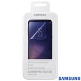 Película Protetora para Galaxy S8 Plus em Poliéster Transparente - Samsung - ET-FG950CTEGBR