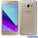 """Samsung Galaxy J2 Prime TV Dourado com Tela de 5"""", 4G, 16 GB e Câmera de 8MP - SM-G53216"""