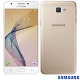 """Samsung Galaxy J5 Prime Dourado com Tela 5"""", 4G, 32 GB e Câmera de 13 MP - SM-G570MWDGZTO"""