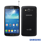 Smartphone Samsung Grand Duos 2 Preto com 5,3', 3G, Android 4.3, Quad-Core 1.2 GHz, 08 GB e Câmera de 8.0 MP